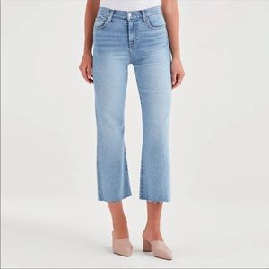 7 For All Mankind Cropped Alexa Jean